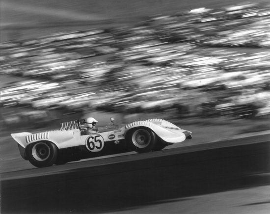 Laguna Seca, by Jerry Lebeck, The Jerry Lebeck Collection, California History Room, © Monterey Public Library