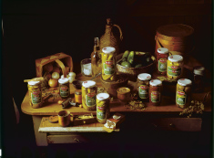 Tabletop Pickles RGB, by M Halberstadt, M Halberstadt Collection, © University of California at Davis Special Collections